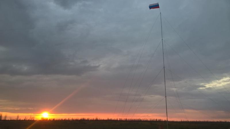 КВ полевой день  RC6AE. 2017г.