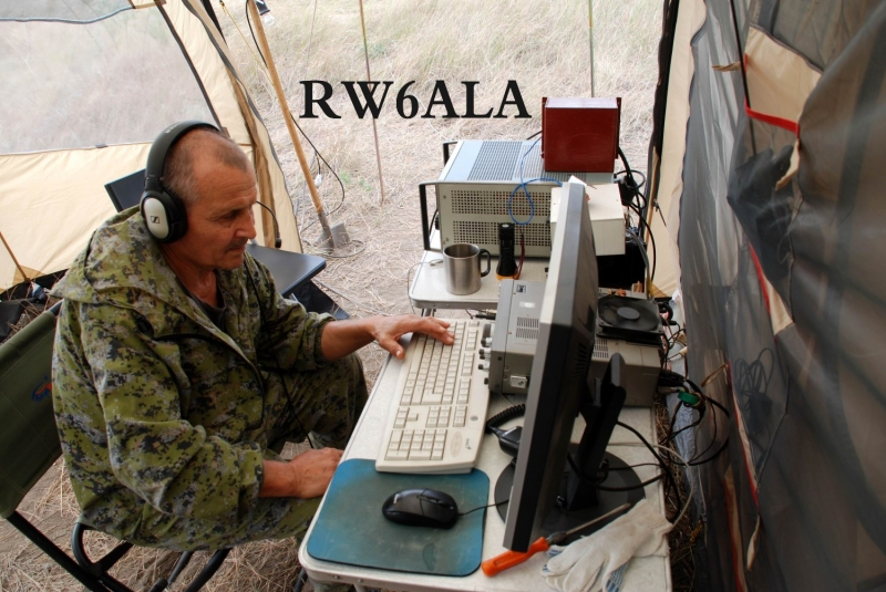IARU HF Field Day SSB 2018. Александр RW6ALA