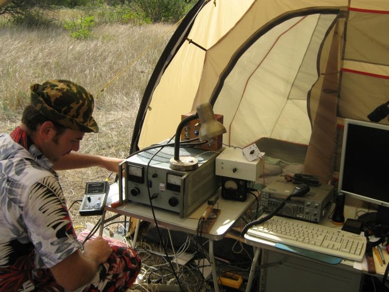 IARU HF Field Day SSB 2018. RK6AQP, настройка аппаратуры перед тестом