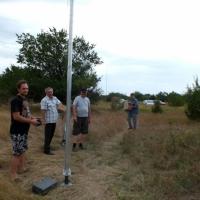 IARU HF Field Day SSB 2018. Василий RK6AQP, Олег R7DD, Владимир RU6BL и Александр RZ6APH. Сворачиваем антенны.