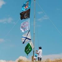 Слёт RCWC-2018. Торжественное поднятие флагов