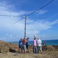 Слёт RCWC-2018. Установка антенны