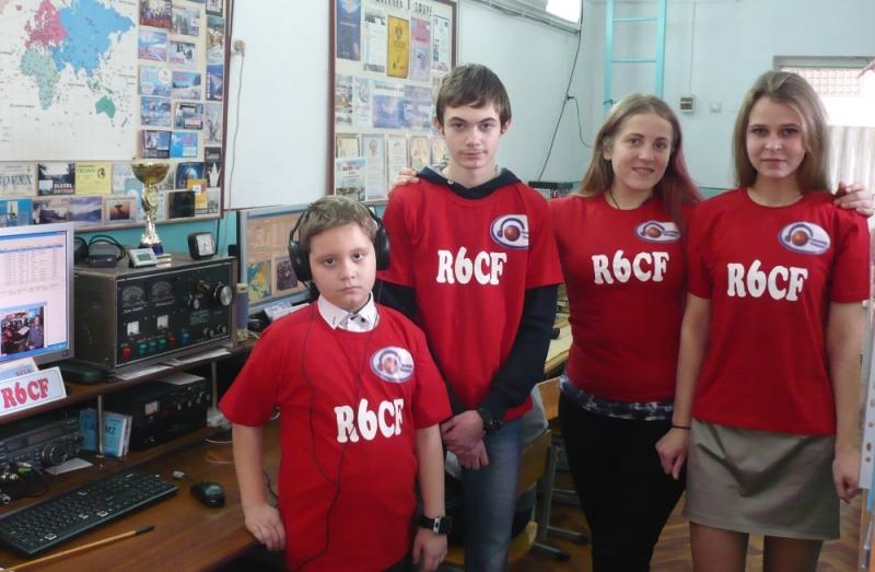 Команда R6CF (Артём Бикус, Владимир Шаталов, Екатерина Ратушняя, Софья Размета) - заняла 3 место в днях активности Битва за Кавказ