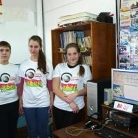 Команда R6CF ЦДО Радуга ст.Брюховецкая, после соревнований. Результатом довольны